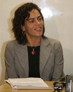 A secretária de Fazenda de Eduardo Paes, Eduarda La Rocque