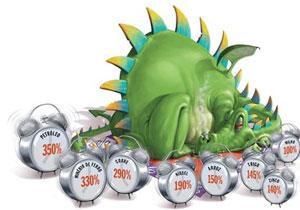 O dragão da inflação está despertando de novo