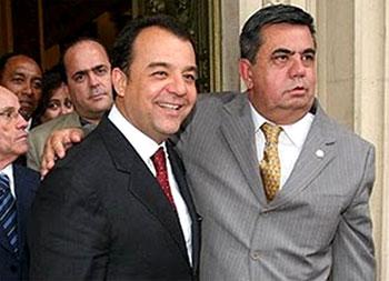 Sérgio Cabral e Jorge Picciani