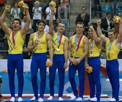 Equipe brasileira de ginástica masculina conquistou ouro no Pan de Guadalajara