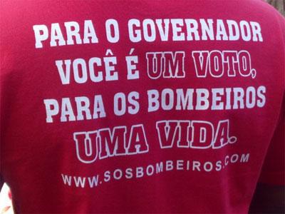 Reprodução do site SOS Bombeiros