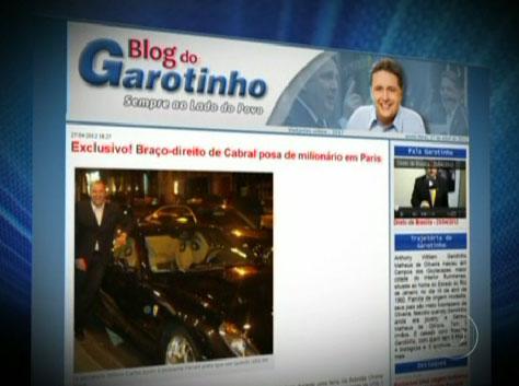 Imagem do Jornal da Globo