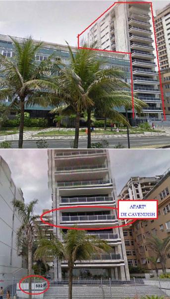Avenida Vieira Souto, nº 582, Ipanema. O endereço de Fernando Cavendish e também de Georges Sadala