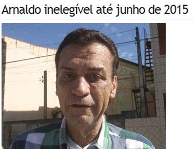 Reprodução do jornal O Diário, de Campos