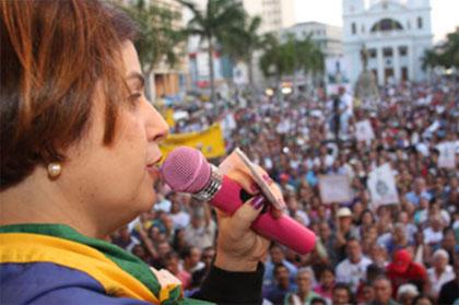 Prefeita Rosinha vai falar ao povo de Campos