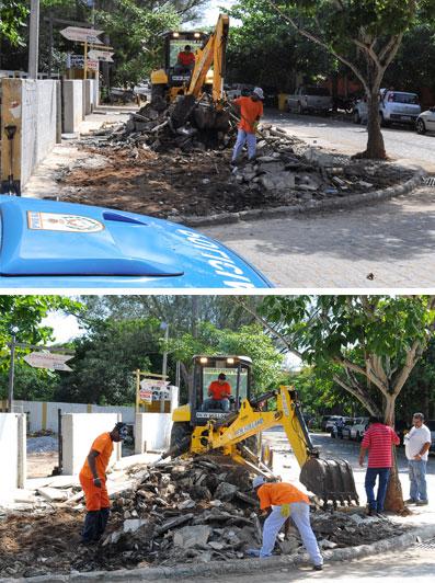 Funcionários da prefeitura de Búzios derrubam construção irregular de Arnaldo Vianna