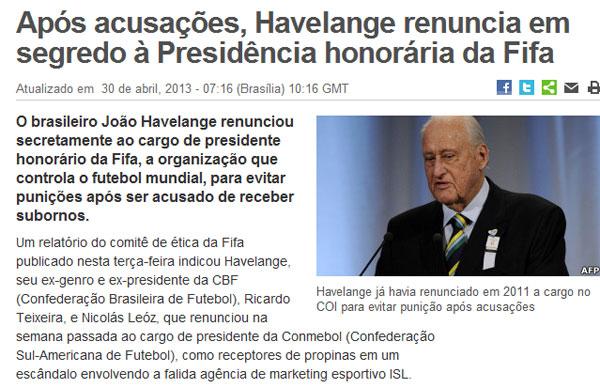 Reprodução da BBC Brasil