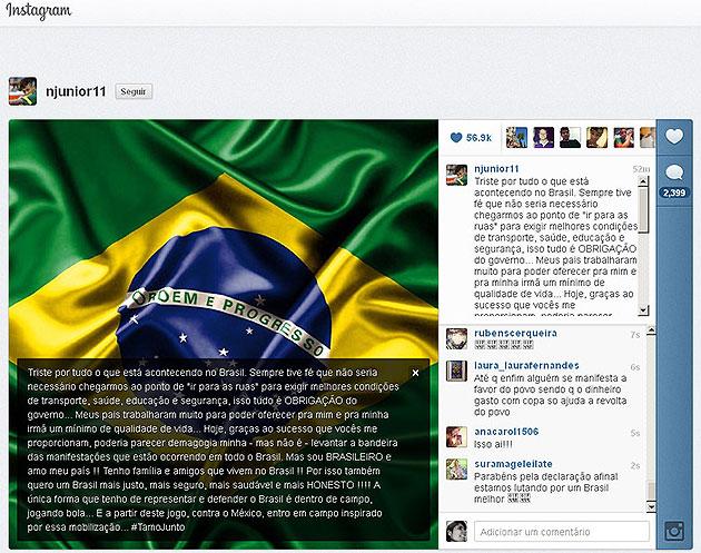 Instagram de Neymar