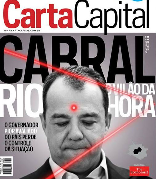 Capa da revista Carta Capital