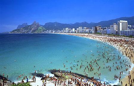 Praia de Ipanema, cartão postal do Rio e do Brasil