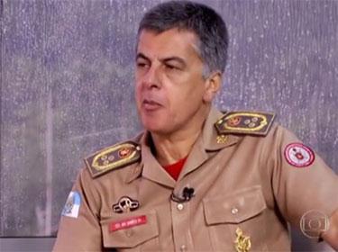 Coronel Sérgio Simões, o felizardo comprador de cobertura na Barra da Tijuca reservou para os bombeiros uma cela de Bangu 1