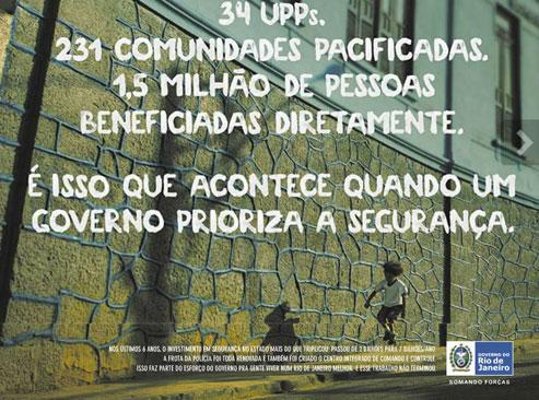 Anúncio publicado no Globo