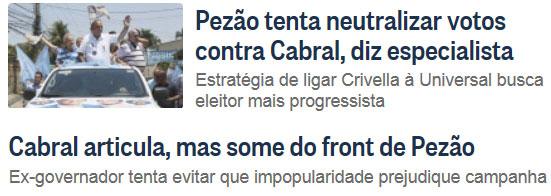 Reproduções do Globo