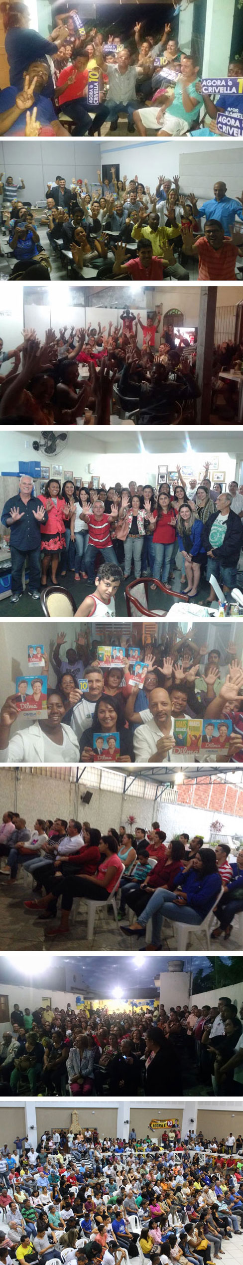 Reuniões realizadas em Campos em apoio a Crivella 10