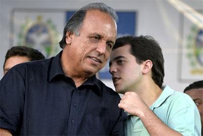 Pezão e Marco Antônio Cabral