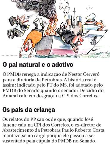 Notas da coluna Panorama Político, do Globo
