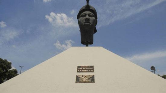 Monumento a Zumbi dos Palmares, no Rio de Janeiro