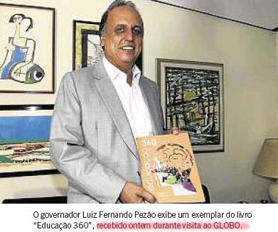 Reprodução do Globo (edição de quarta-feira)