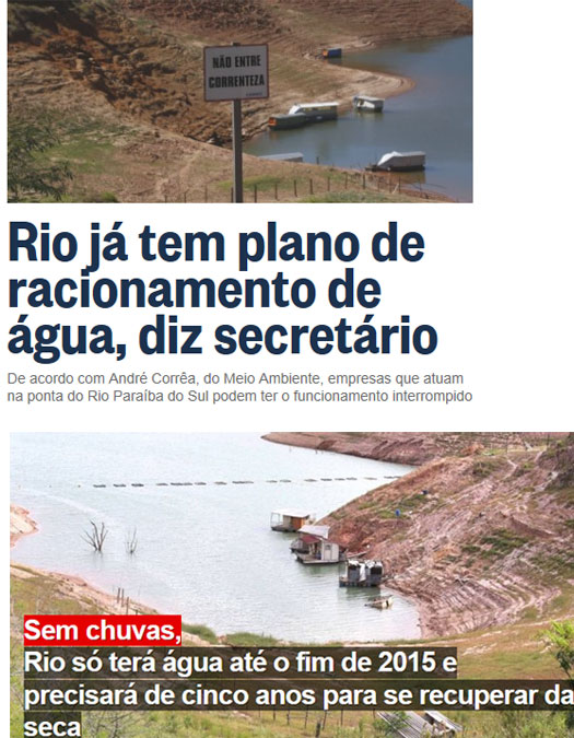 Reproduções do Globo online e do Extra online