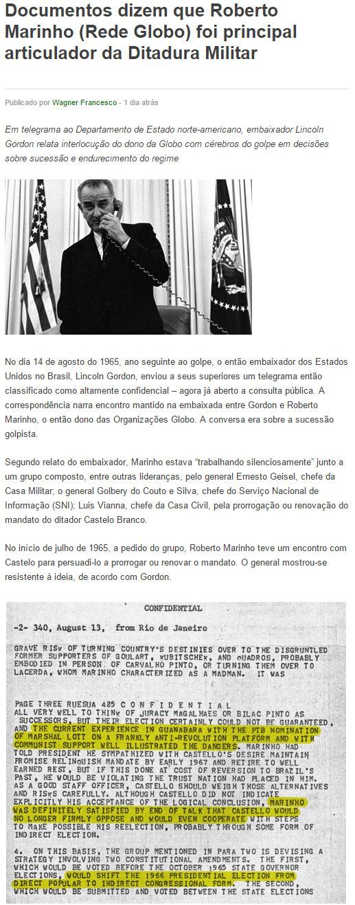 Reprodução do site jurídico JusBrasil