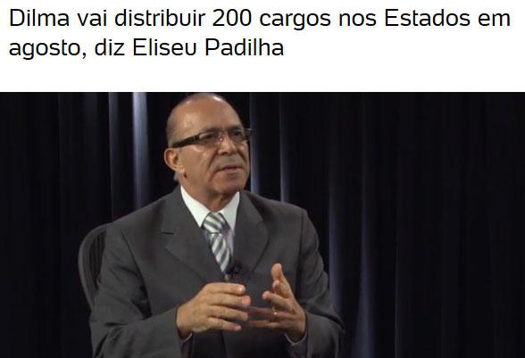 Reprodução do blog de Fernando Rodrigues, do UOL