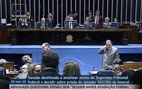 Reprodução da TV Senado