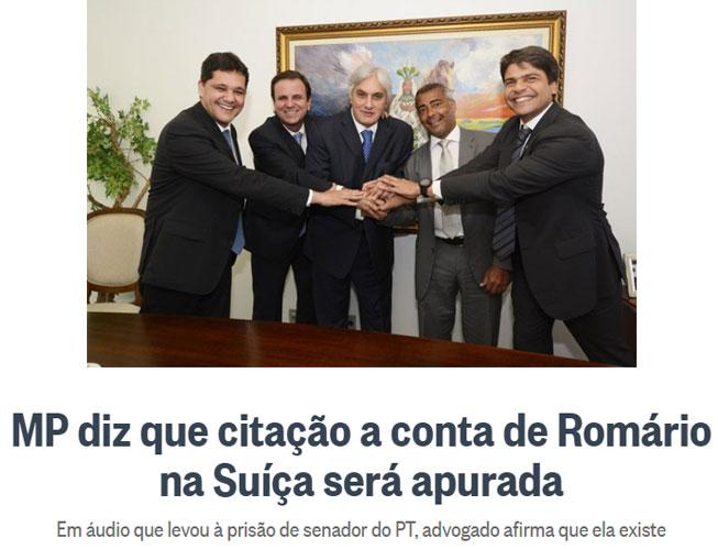 Manchete do Globo online