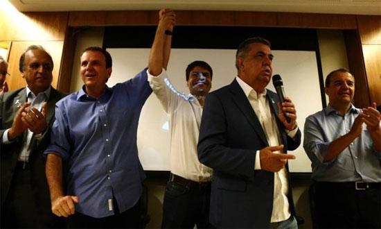 Pezão, Eduardo Paes, Pedro Paulo, Jorge Picciani e Sérgio Cabral