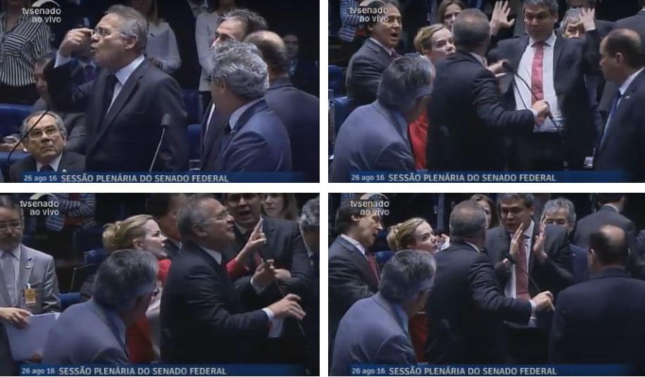 Imagens da TV Senado