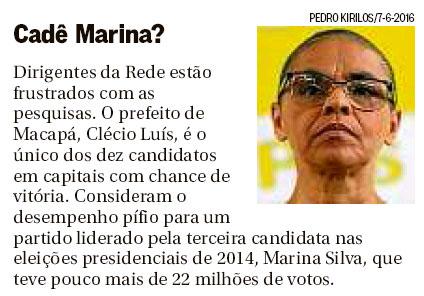 Reprodução do Panorama Político, do Globo