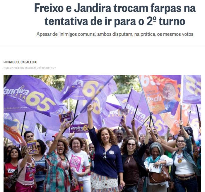 Reprodução do Globo online