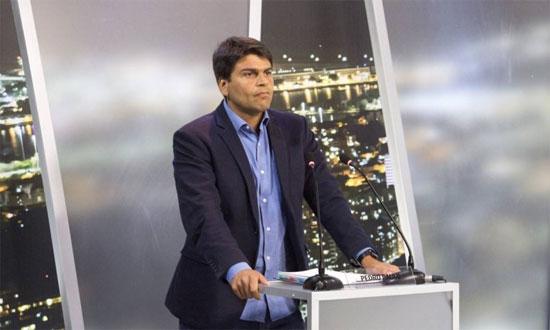 Pedro Paulo no debate da Record
