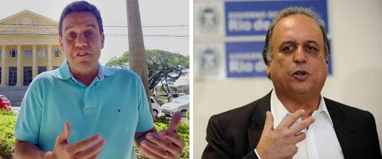 Rafael Diniz e Pezão