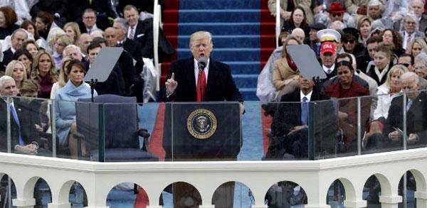 Donald Trump na posse
