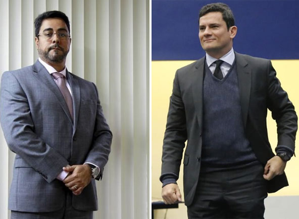 Juízes Marcelo Bretas (Calicute) e Sérgio Moro (Lava Jato)