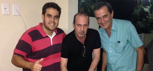 Rafael Diniz, Fred e Sérgio Mendes