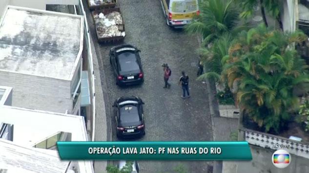 Polícia Federal nas ruas do Rio na manhã desta terça-feira