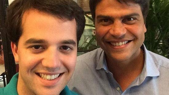 Marco Antonio Cabral e Pedro Paulo