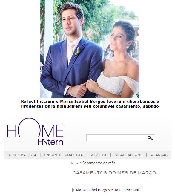Foto do Jornal da Manhã (Uberaba); abaixo reprodução do site da H.Stern