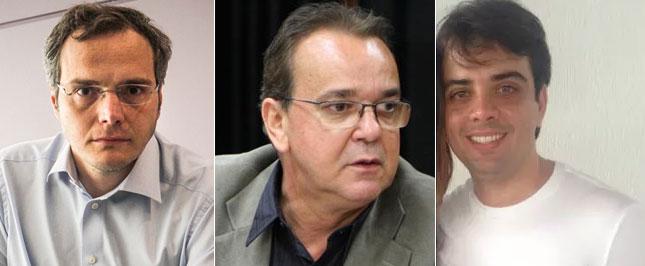Doleiro Lúcio Funaro, Hudson Braga, o Braguinha, e Marcelo Campos Amorim, o Marcelinho