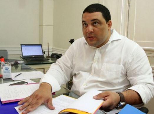 Cledson Sampaio, secretário de Infraestrutura do governo Rafael Diniz