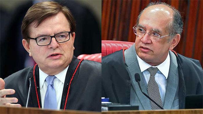 Ministros Herman Benjamin e Gilmar Mendes
