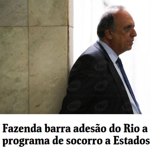 Manchete da Folha de S.Paulo