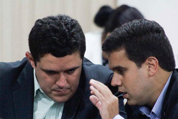 Vereador Marcão com o prefeito de Campos, Rafael Diniz