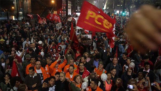 Ato pró-Lula na Avenida Paulista