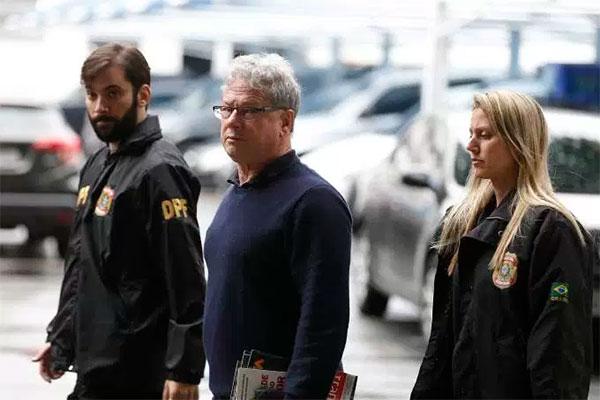 Jacob Barata Filho preso pela Polícia Federal