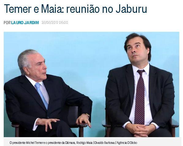 Reprodução do blog de Lauro Jardim