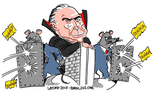Charge de Latuff, do Brasil 247